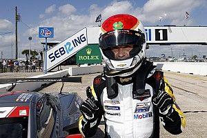 "Qualifying with GTD ""stressful"" says GTLM pole winner Garcia"