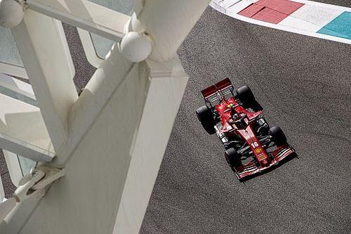 Volledige uitslag eerste training F1 Grand Prix van Abu Dhabi