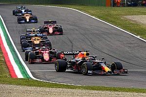 Leclerc explains why he didn't pass Verstappen on restart