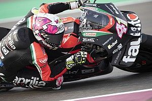 Test MotoGP Qatar 2, Giorno 2: di nuovo Aprilia alle 19
