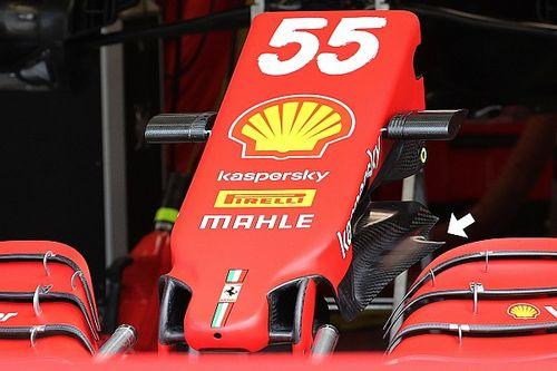 Ferrari: una modifica al muso con un diverso cape