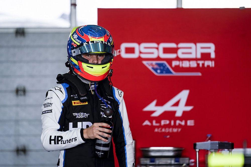 F2-klassementsleider Piastri niet in beeld bij F1-team Alfa Romeo