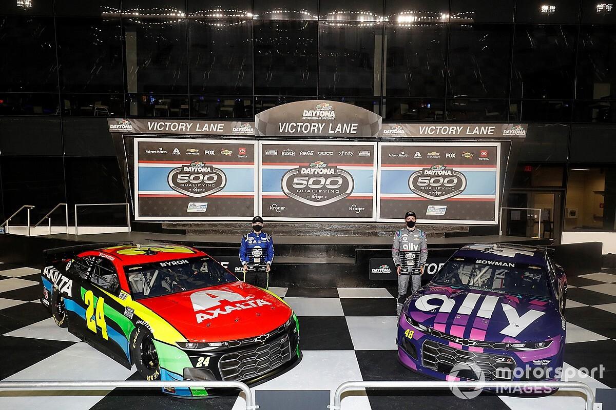 La parrilla de salida para las 500 Millas de Daytona