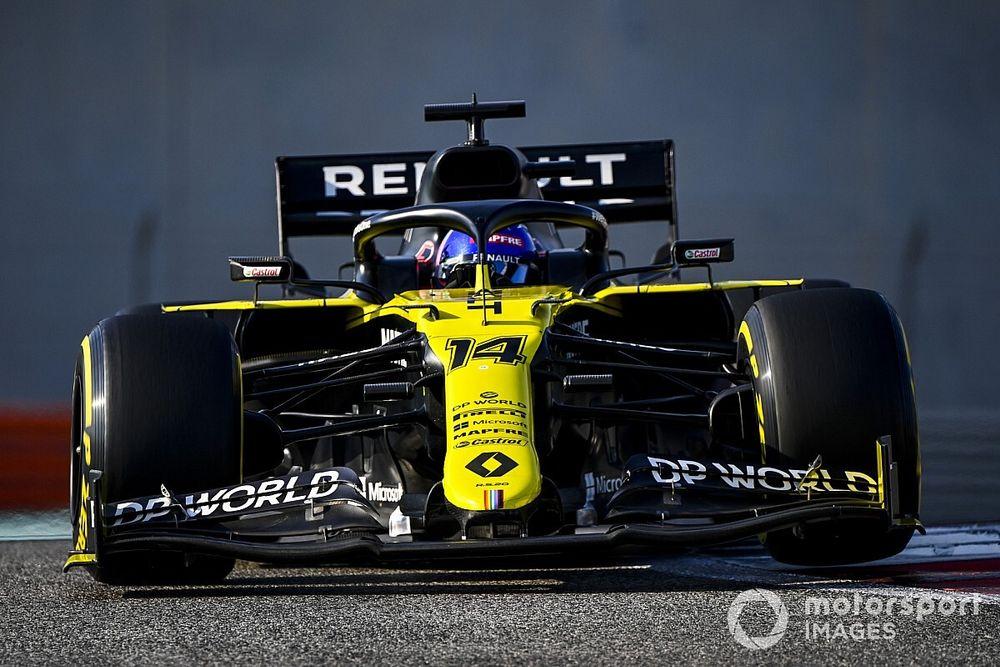 Alonso, Abu Dhabi testinden mutlu ayrılıyor