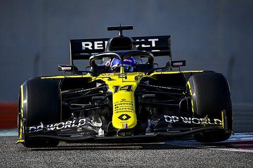 Solo un Mercedes puede con Alonso a mitad del test de F1 en Abu Dhabi