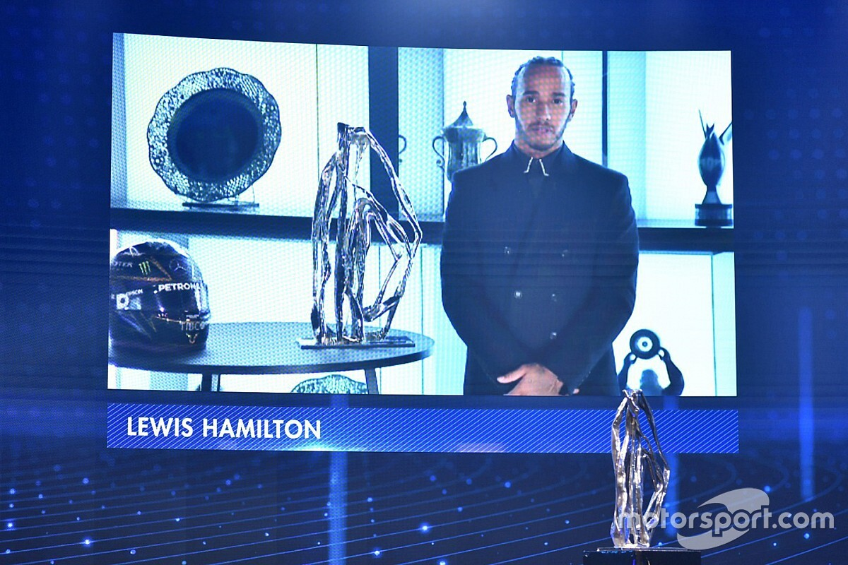 F1: Hamilton é eleito pela segunda vez esportista do ano pela BBC
