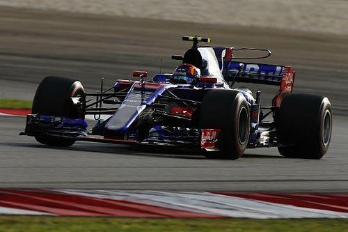 Gasly vivió su primera calificación de F1 sin presión