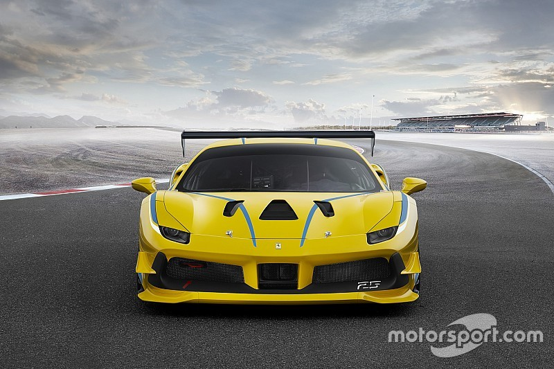 Ferrari reveals turbocharged 488 Challenge car for 2017