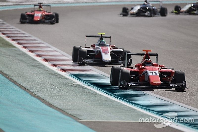 DRS in GP3 is to help drivers, not to improve show
