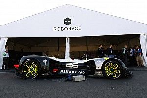 La Roborace di scena all'Autosport International