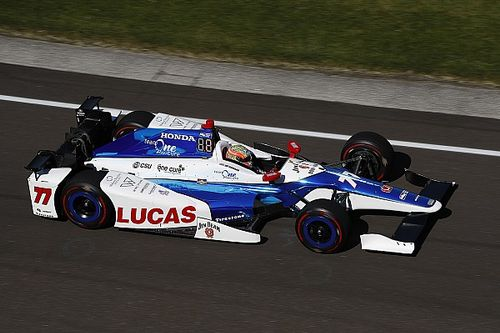 Indy 500: Veteran one-off Howard holds P1 at halfway point on Day 4