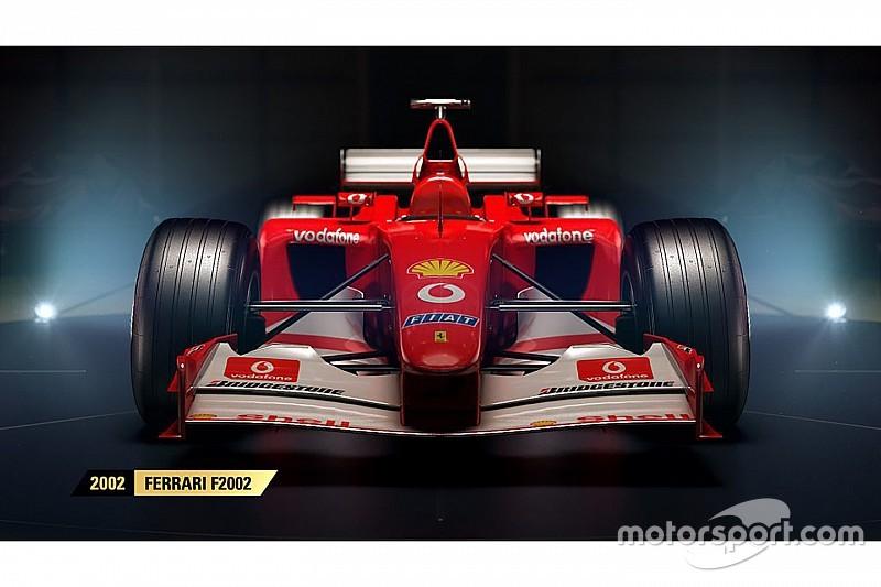 VÍDEO: Jogo da F1 anuncia quatro Ferraris no modo clássico