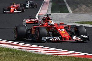 Formel 1 2017 in Budapest: Ferrari dominiert 3. Training mit Vettel
