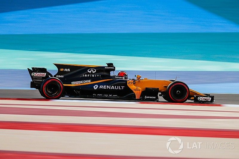 Renault targets top three in 2018 testing mileage