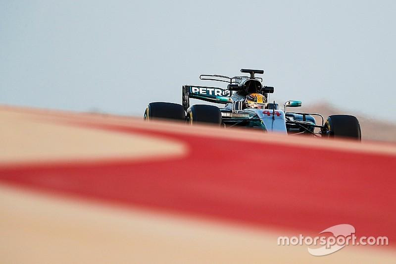 Videón Hamilton és a leggyorsabb kör a bahreini versenyről
