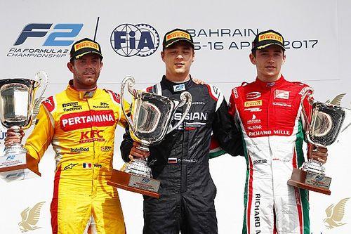F2 Bahrain: Markelov juarai Feature Race, Gelael P17