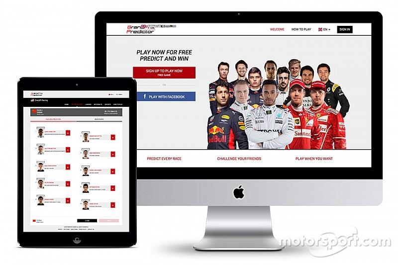 F1予想ゲーム『グランプリ・プレディクター』公開。世界のファンと対戦