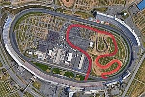 NASCAR probó el circuito interno de Charlotte Motor Speedway