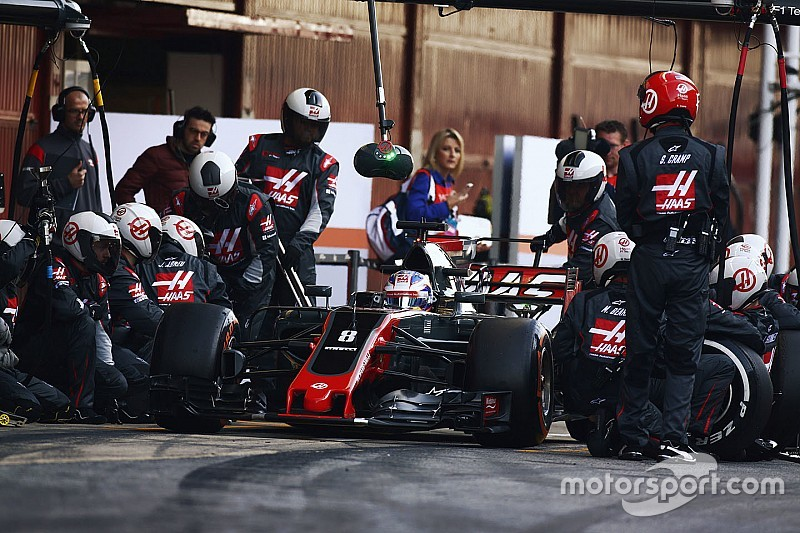 "Grosjean : ""Haas a extrêmement mieux travaillé que l'an dernier"""