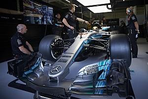 F1 Artículo especial ¿Qué tan grande es un Mercedes de F1?