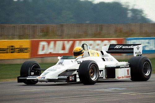 Galeri: Senna'nın Williams FW08C ile olan testi