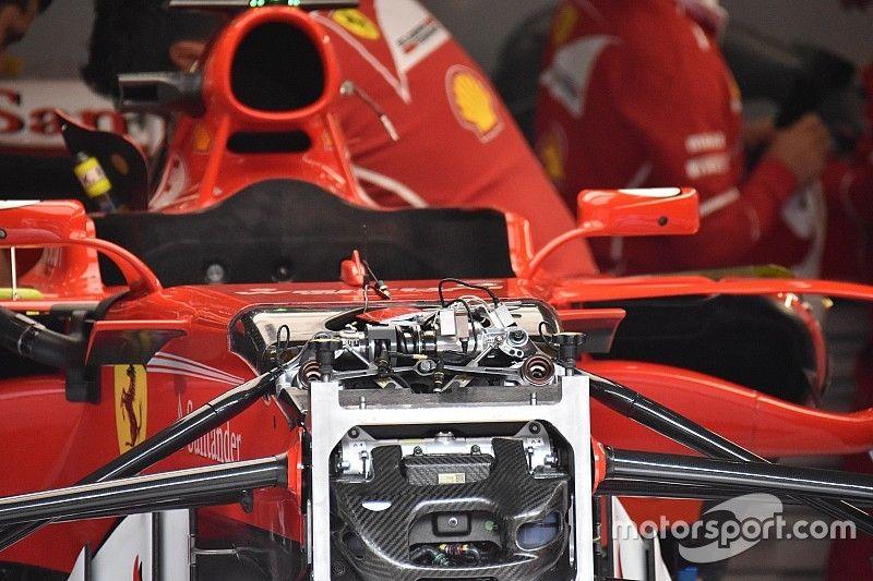 Ferrari bawa pembaruan suspensi dan aero ke Spa