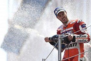 Fotogallery: la Ducati e Dovizioso raddoppiano la festa a Barcellona
