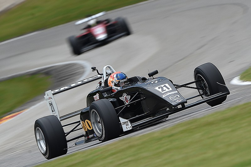 Road America USF2000: VeeKay scores second win
