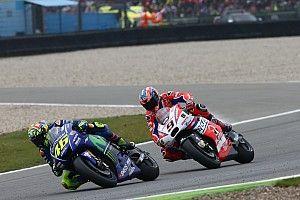 Hampir kalahkan Rossi, Petrucci salahkan Barbera dan Rins