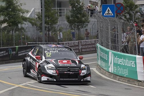 Portugal WTCC: Huff outpaces Michelisz in second practice