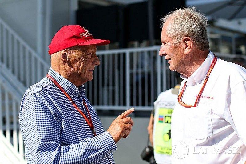 Lauda discute com Marko por apressar renovação de Verstappen