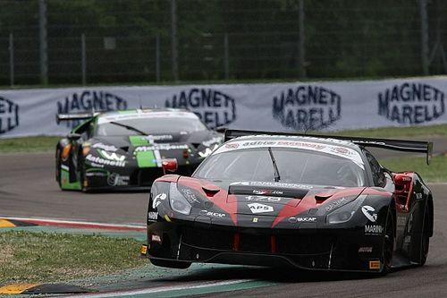 Marco Cioci sale sulla Ferrari 488 dell'Easy Race al Mugello