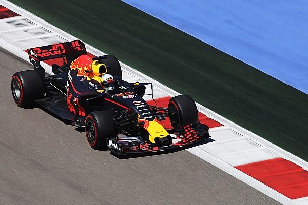 Red Bull apunta al quinto y sexto sitio en Rusia