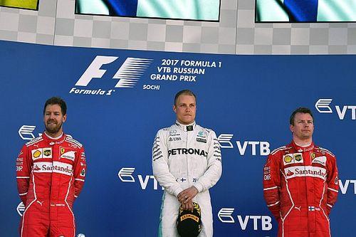 Alle Formel-1-Sieger des GP Russland in Sochi