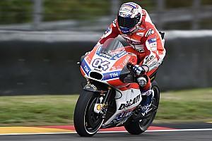 MotoGP Practice report Brno MotoGP: Dovizioso tops second practice by four tenths