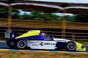 Coimbatore JK Tyre: Chatterjee wins Race 1 as Prasad retires