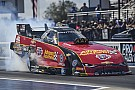 NHRA Courtney Force wins in Arizona as father John escapes explosion
