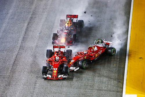 """Eddie Irvine & Leser einig: Sebastian Vettel hat Startkollision """"ausgelöst"""""""