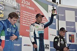 Di Benedetto fa doppietta a Vallelunga: il titolo si deciderà a Monza