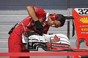 Формула 1 Самое интересное Первый день тестов Ф1 в Венгрии: шпионские фото технических новинок