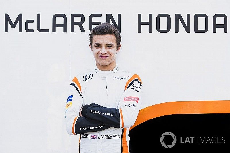 Officiel - Lando Norris devient pilote de réserve McLaren