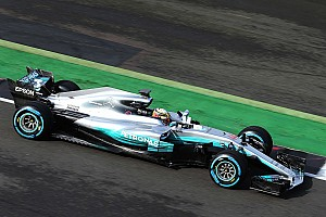 New Mercedes F1 car breaks cover at Silverstone