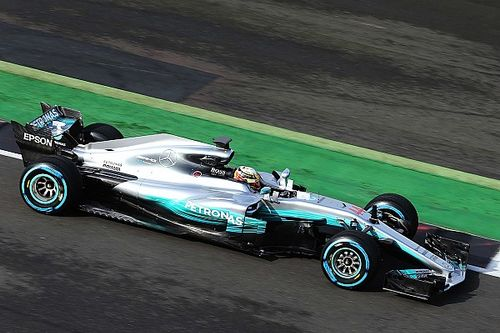 LIVE: Peluncuran Mercedes AMG F1 W08 Hybrid