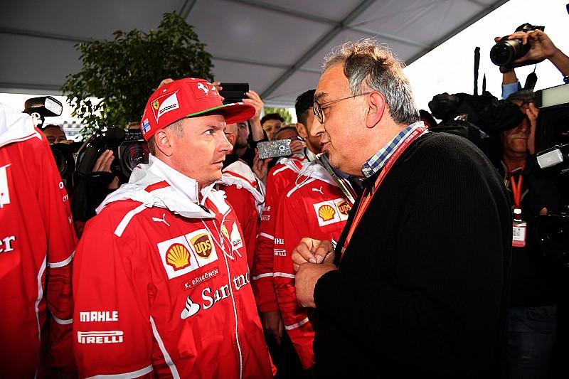 """Marchionne: """"Cinsel taciz"""" suçlaması Raikkonen'in sözleşmesini etkilemeyecek"""