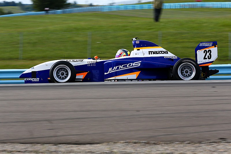 Watkins Glen Pro Mazda: Franzoni clinches title with dominant win