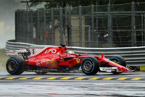 F1 2017 in Monza: Ferrari geht im Regen-Qualifying baden