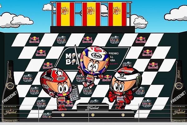 VIDEO: el GP de España según los 'MiniBikers'