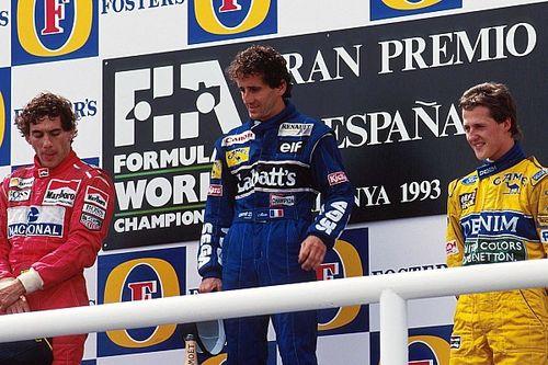 El podio que unió a tres de los grandes de la F1 cumple 25 años