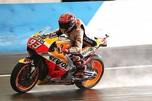 Márquez manda en la última práctica en Motegi