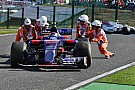 Kieséssel zárta utolsó Toro Rossós versenyét Sainz